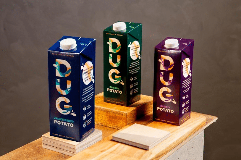 Swedish potato-based milk launched - food tech news in Asia