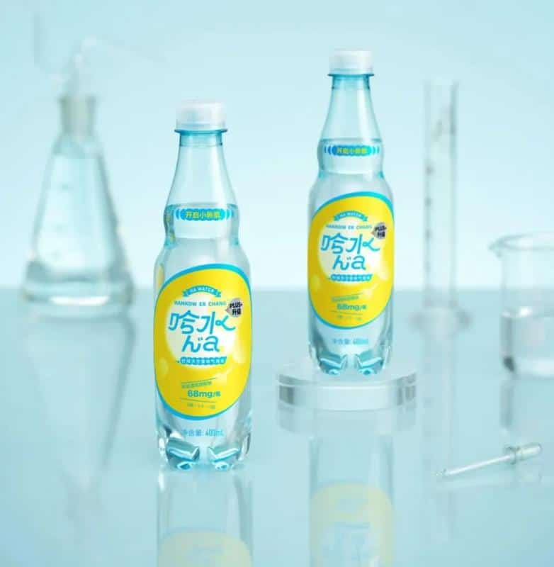 The first hyaluronic acid sparkling water in China - food tech news in Asia