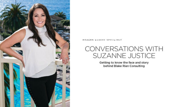 Coversation with Suzanne Justice