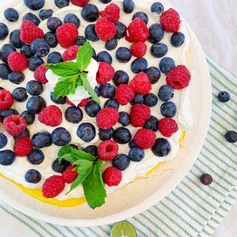 pavlova fruit recipe fresh