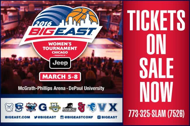 Big East Tickets DePaul University