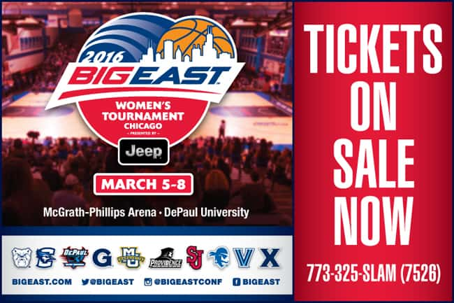 BIG EAST Tournament Tickets On Sale