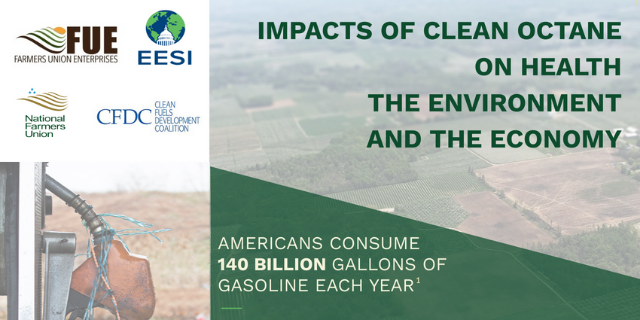 The Impacts of Clean Octane on Health, the Environment & the Economy