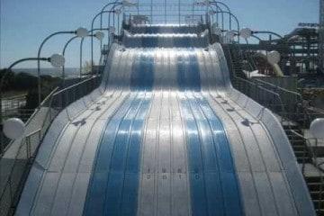Morey's Piers Wipe Out Slide - Final Slide