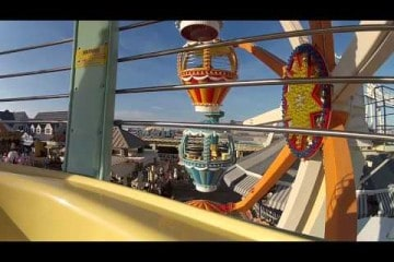 Wildwood NJ Boardwalk Homevideo 2014