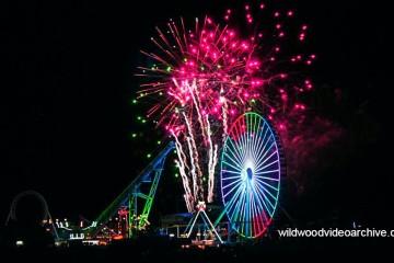 Wildwood Entertainment Schedule Fireworks