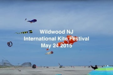 Wildwood International Kite Festival 2015