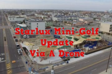 Starlux Mini-Golf Update Via A Drone