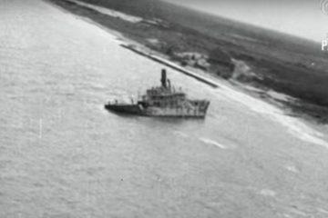 Cape May Concrete Ship In 1927