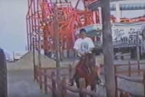 Horseback Riding On Beach 1990s