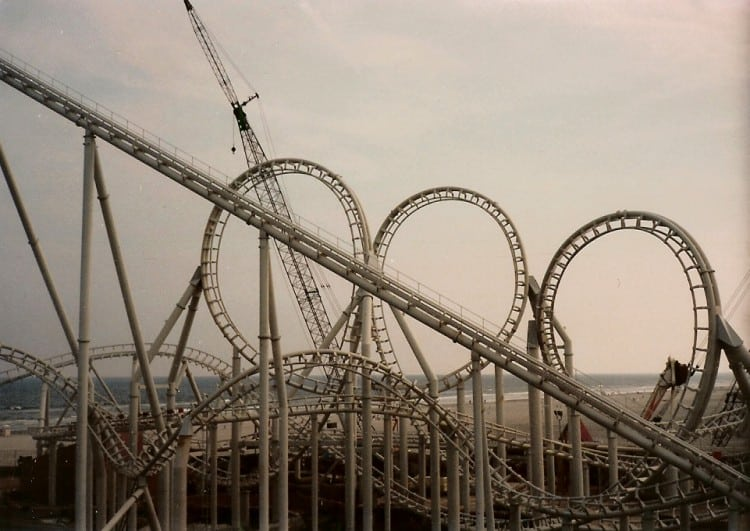 Wildwood Coasters From 1991
