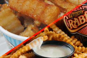 Curly Fries Or Chickie's & Pete's Crab Fries