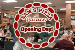 Sam's Pizza Opening Day (Vlog)