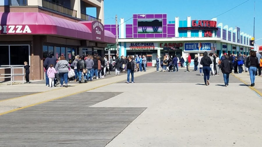 Morey's Piers Opening Day