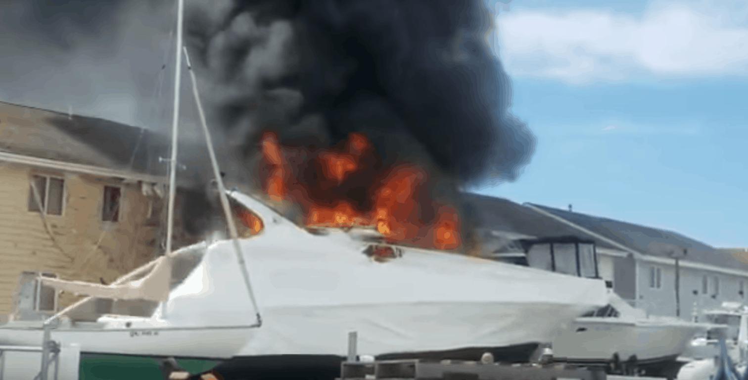 Update on Boat Fire In Wildwood