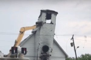 Cape May Church Demolition