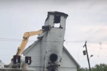 Cape May Church Demolition