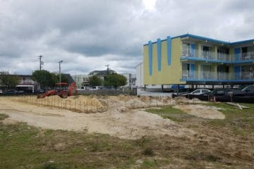 Construction Starts On NEW Wildwood Motel