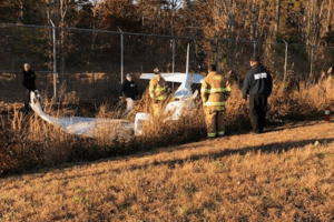 Small Plane Crash At Cape May Airport