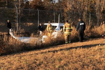 Small Plane Crash At Cape May Airport
