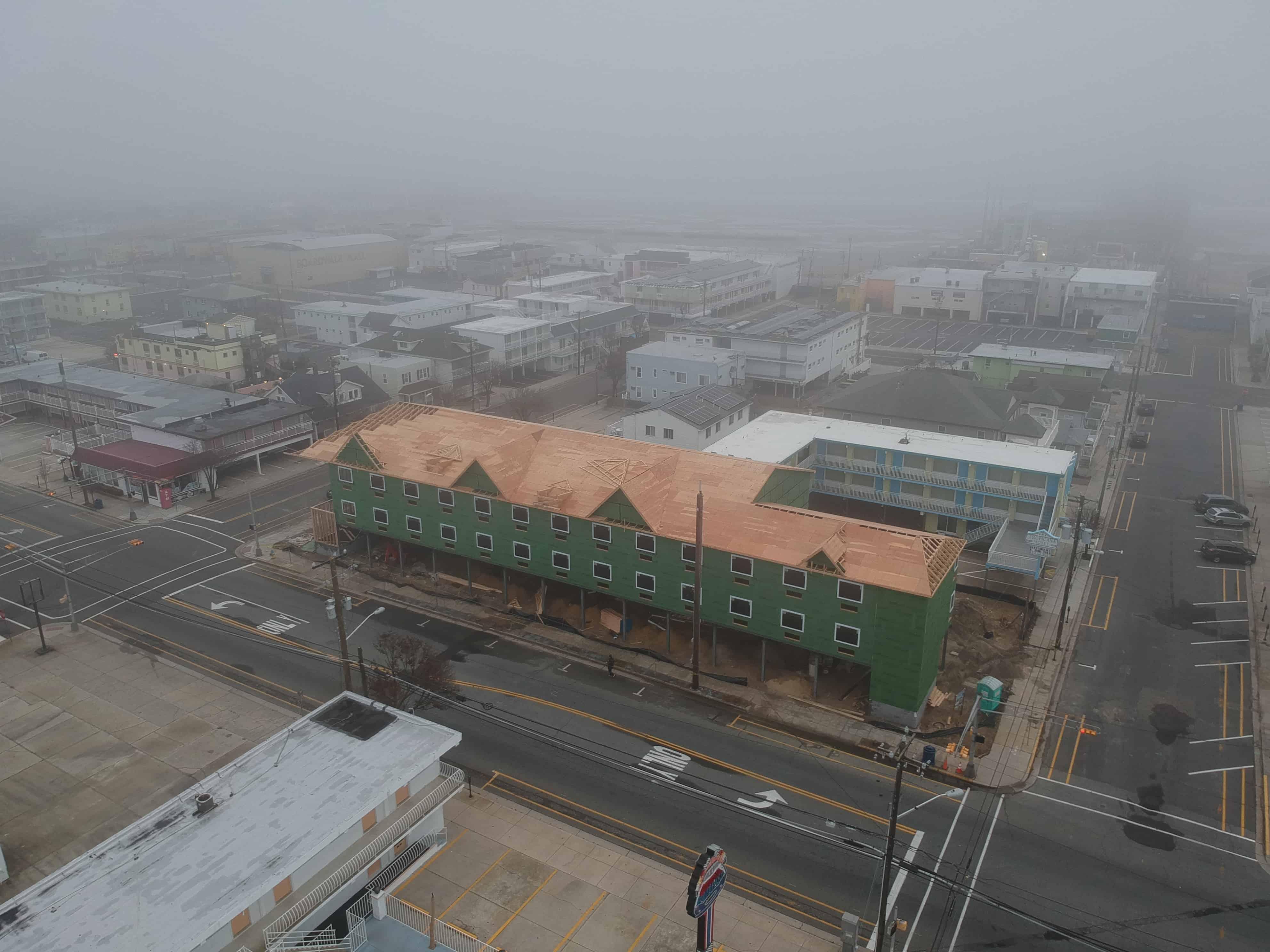 New Wildwood Hotel Drone Update