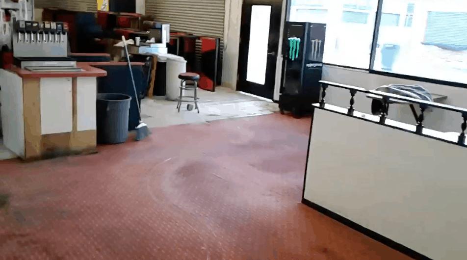 Harry's Corner Demolition Video