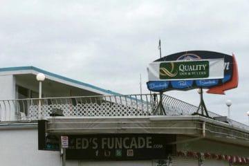 Quality Inn Moves Onto The Boardwalk