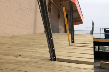 New Boardwalk Ramp At Pine Ave