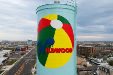 Wildwood Water Tower Gets A Makeover!