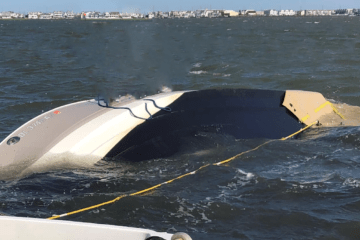 Sinking Boat Saved In Avalon