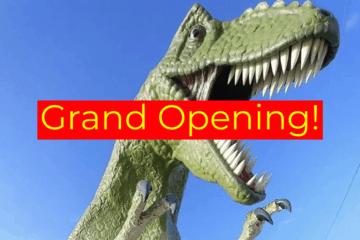 Jurassic Adventure Golf Grand Opening!