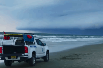 Wildwood Beach Storm Evacuation