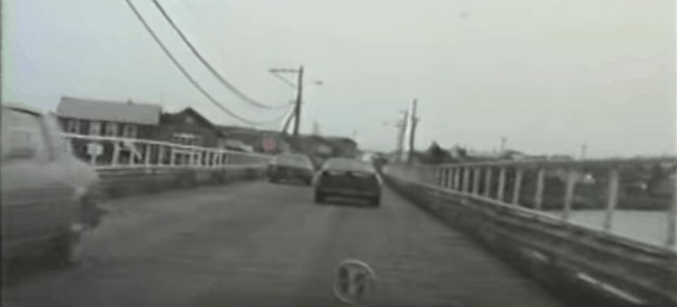 Entering North Wildwood On The Old Wooden Bridge