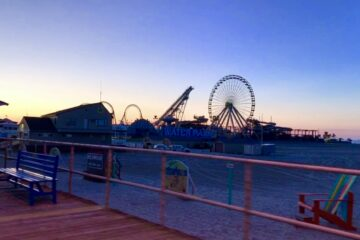 Wildwood Boardwalk 5AM Bike Tour