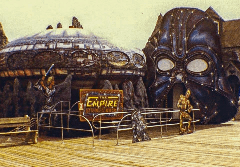 "Do You Remember The Morey's Piers ""Star Wars"" Ride?"