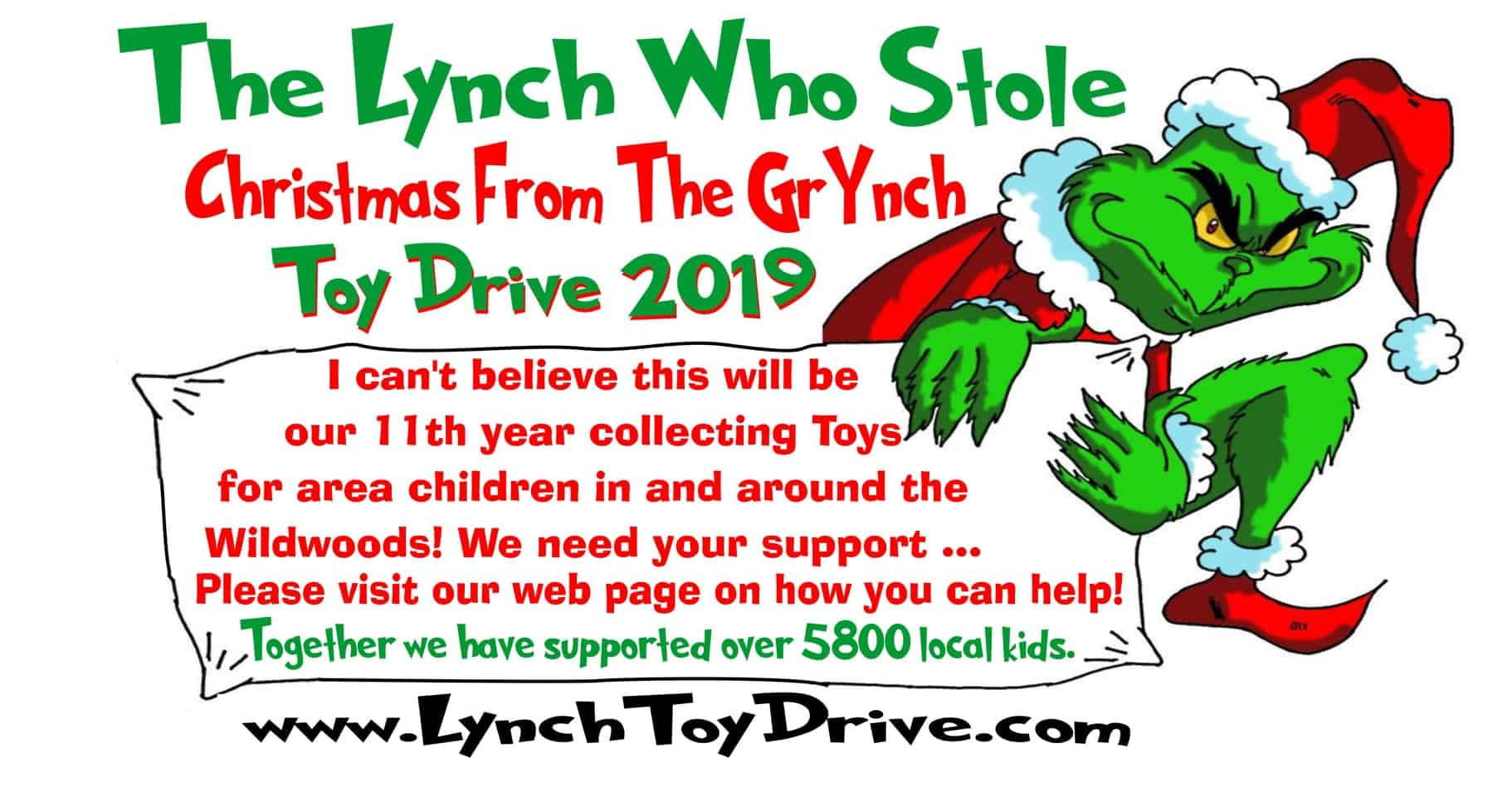 11th Annual Lynch Toy Drive!