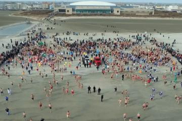Polar Plunge 2020 (Drone Video)