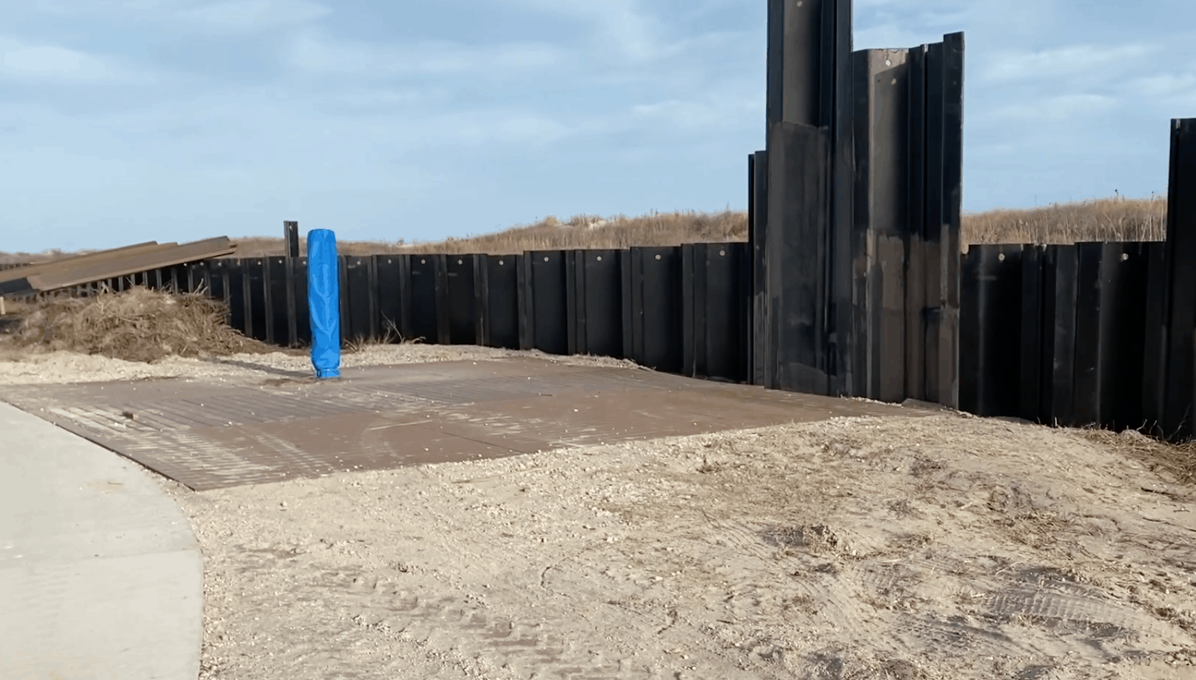 North Wildwood Bulkhead Construction Update