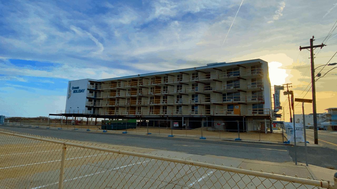 Wildwood Mahalo Motel Construction Update