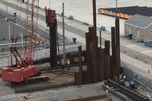 Construction By the Wildwood Boardwalk Explained
