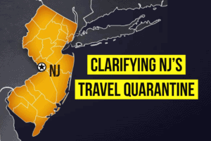 Clarifying NY NJ and CT Travel Quarantine
