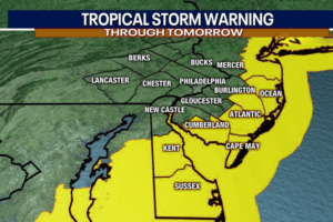 The Latest On Tropical Storm Isaias (NJ Warning)