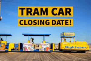 Wildwood Tram Car Closing Date Released