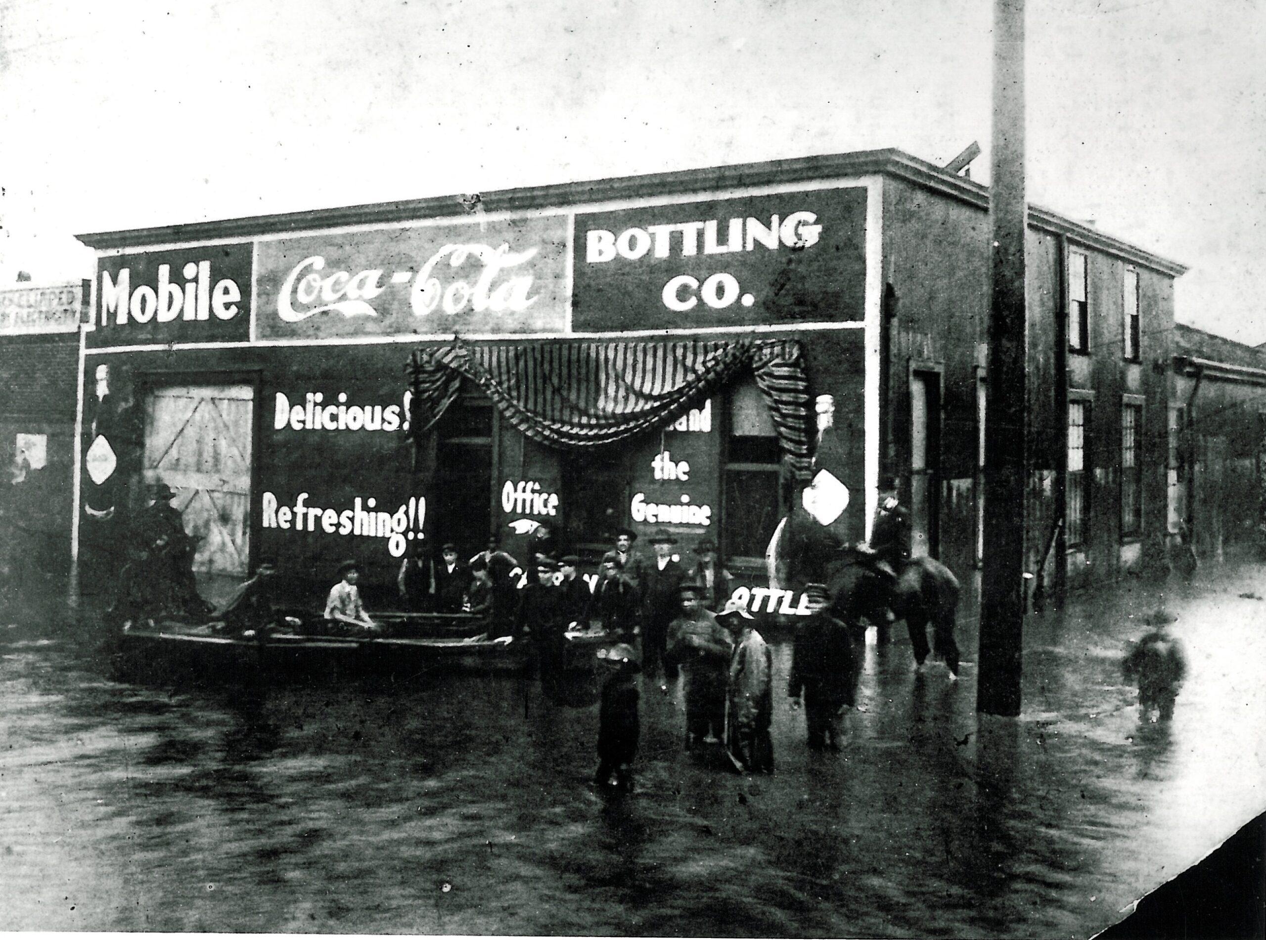 Hurricane Floods Coca-Cola Facility