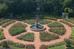 Bellingrath's Rose Garden will have its spring bloom-out in mid-April.