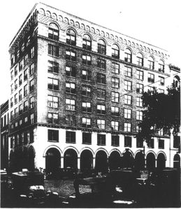 The First National Bank Annex, ca. 1928.
