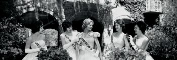 Diane Sawyer, America's Junior Miss 1963, Visits