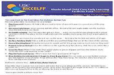 RICCELFF Fast Facts: Outdoor Active Fun on a Budget