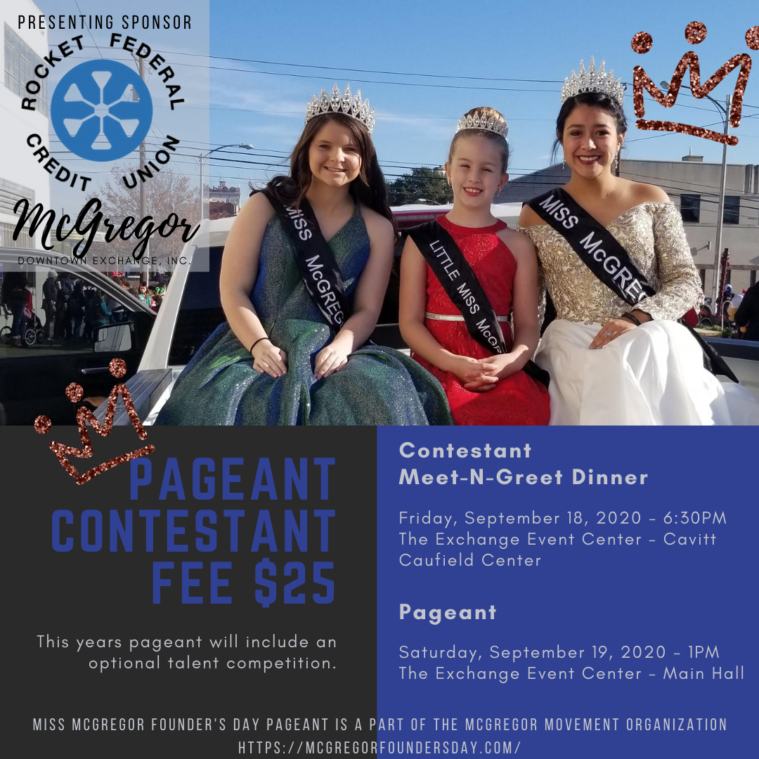 2020 Miss McGregor Pageant Post (1)