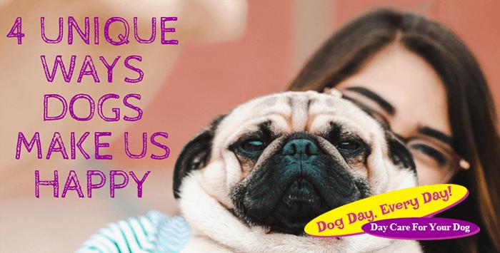 4 Unique Ways Dogs Make Us Happy